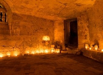 7 vins / 7 lieux insolites : Cave du chateau de la Bourdaisière